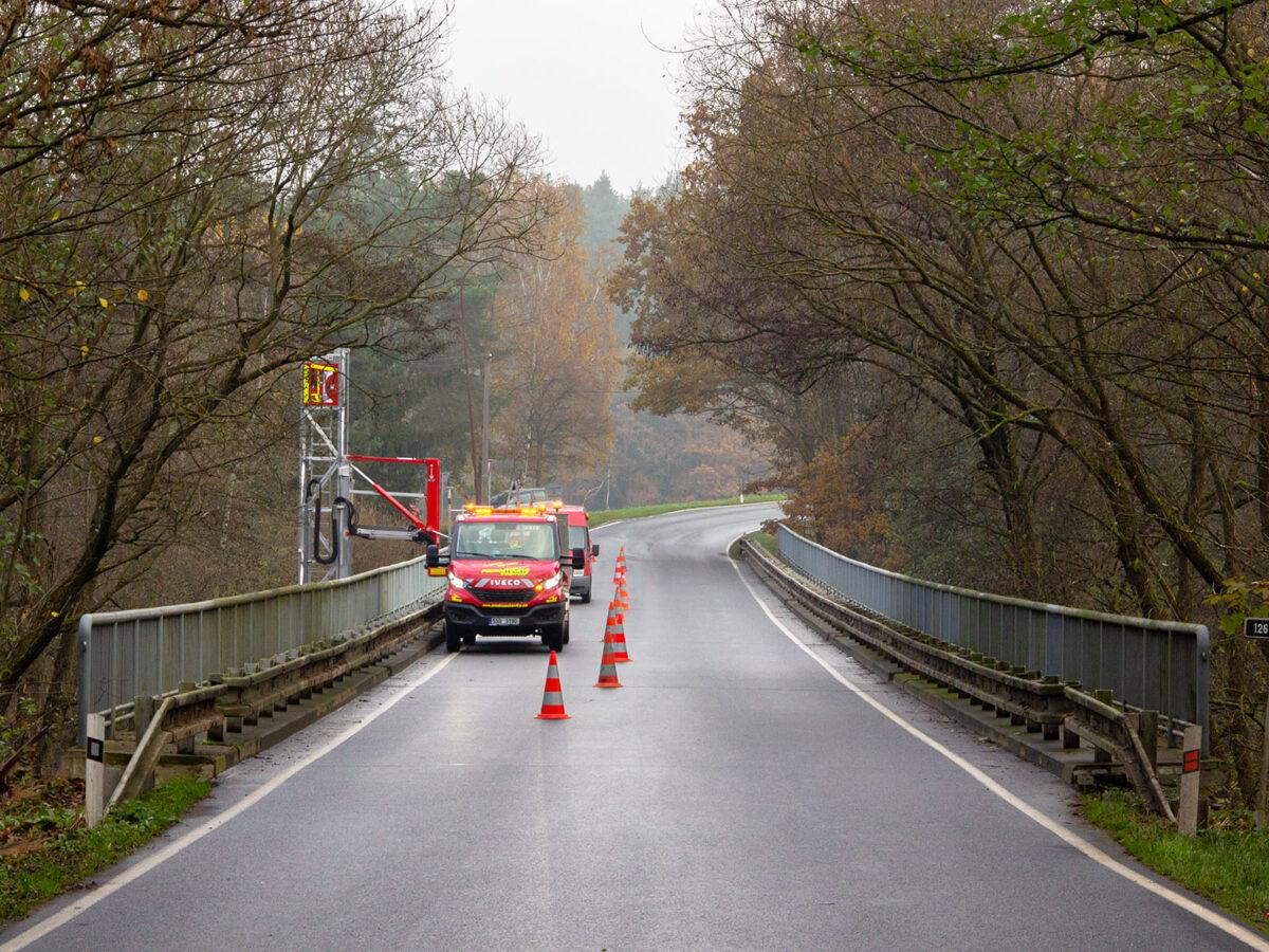 Servisní prohlídka mostu ev.č. 126-005 - Soutice